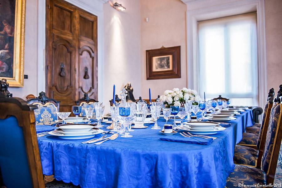 Castello di Corigliano: la Sala da Pranzo