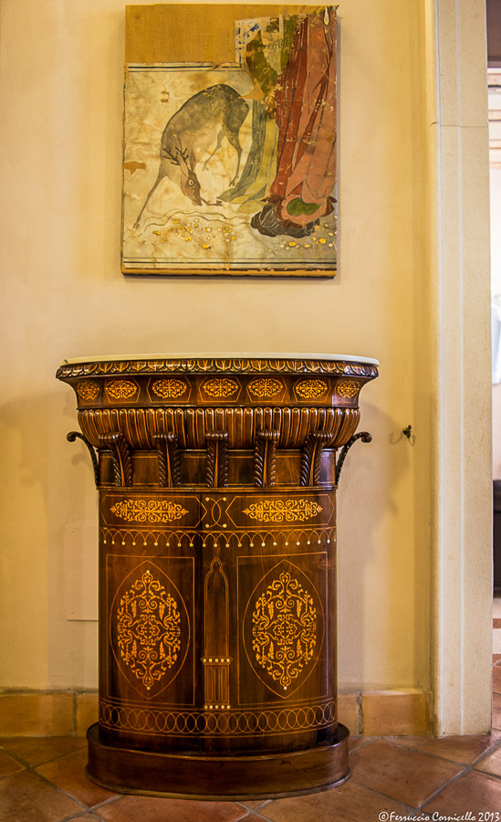 Castello di Corigliano: Sala Cinese