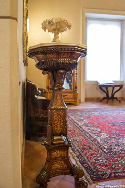 Castello di Corigliano: salotto