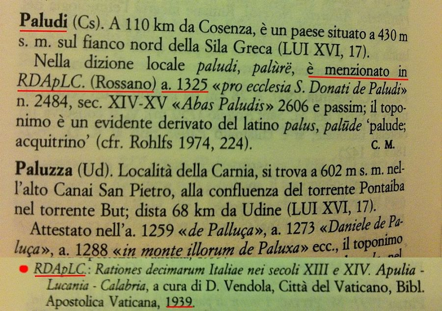 Castiglione di Paludi: l'antica conoscenza di un sito archeologico