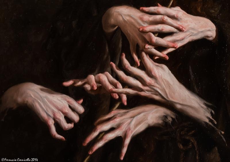 Lo straordinario talento pittorico di Giovanni Gasparro. A Cosenza una mostra accosta le sue opere a quelle di Mattia Preti