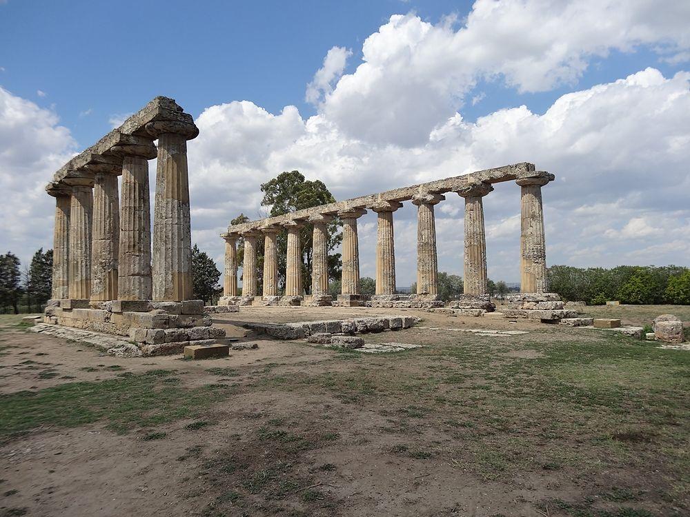 Tempio di Hera a primavera