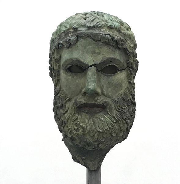 Testa di Basilea, Museo di Reggio Calabria
