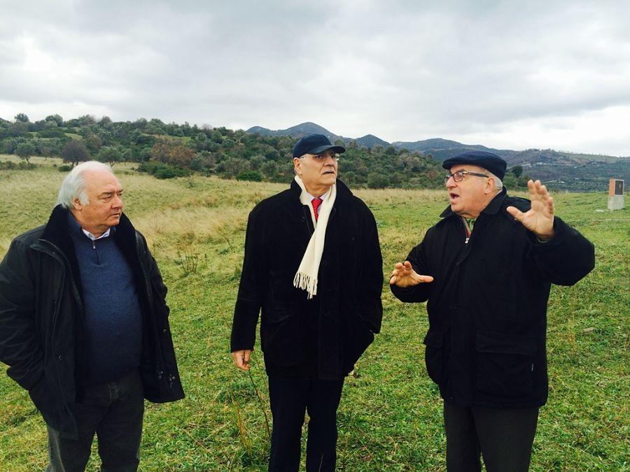 Visita sindaci a Castiglione di Paludi