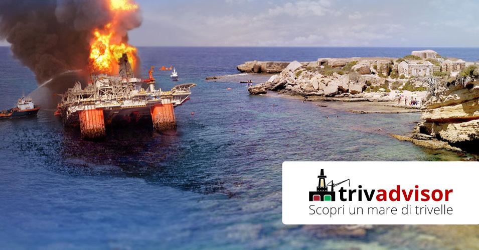 No Ad Un Mare Di Trivelle L Appello Di Greenpeace Contro L Assalto