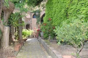 Scorcio del giardino del Museo delle Carrozze - Ph. Il Podere delle Carrozze