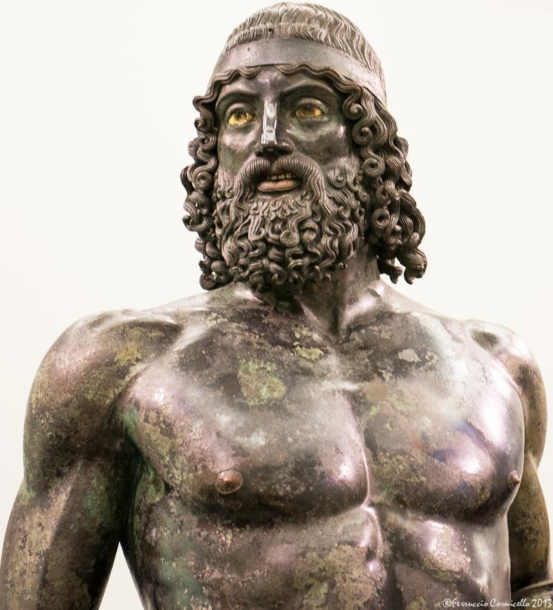 Il Bronzo di Riace A – Ph. © Ferruccio Cornicello