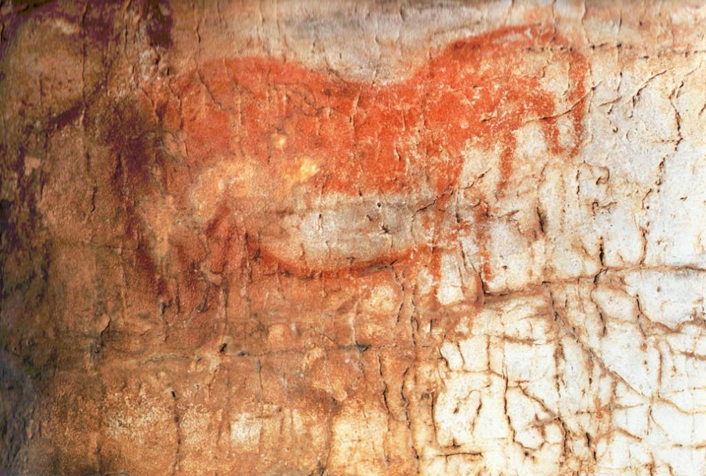 Graffito della Grotta Paglicci, Rignano Garganico (Foggia)