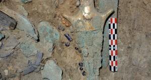 Eccezionale scoperta nel sud della Grecia: ritrovata la ricca sepoltura di un guerriero Miceneo
