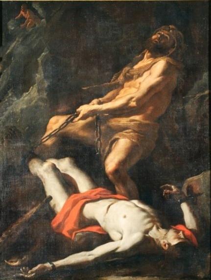 Mattia Preti, Ercole libera Teseo, XVII sec.