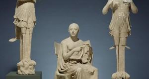 PUGLIA | Proviene da Taranto lo straordinario gruppo scultoreo di Orfeo e le Sirene custodito al Getty Museum