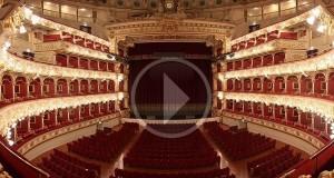 """Il Teatro Petruzzelli di Bari diventa """"social"""" con un video ed invita tutti ad entrare"""