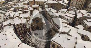 Racconta il tuo SUD | Cosenza: la poesia di una città sotto la neve, nel video di Marco Caputo