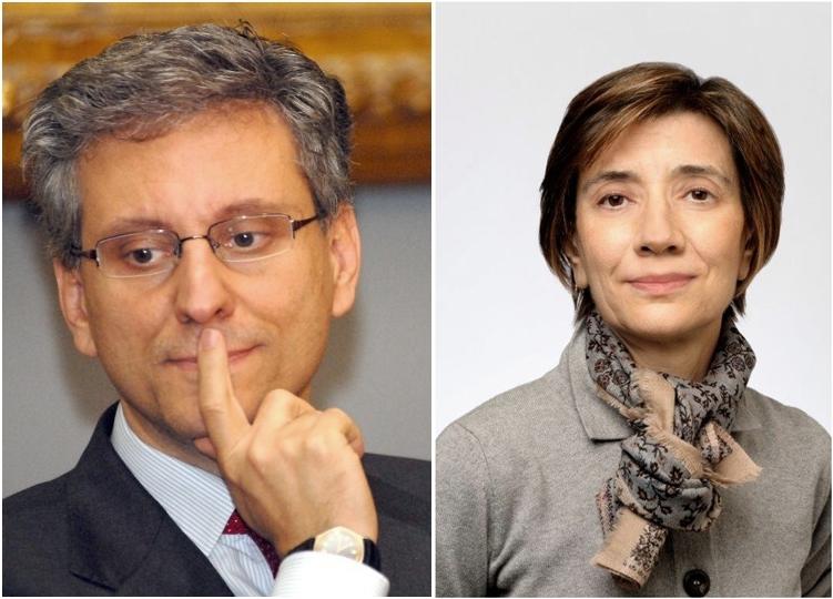 Gli scienziati Antonio Iavarone e Anna Lasorella