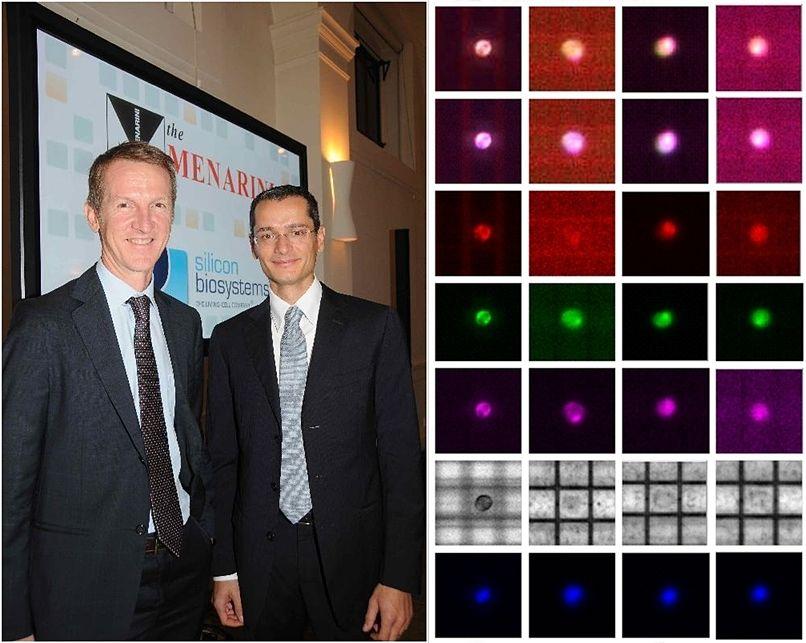 Gli ingegneri elettronici Gianni Medoro (a destra) e Nicolò Manaresi co-founders di Silicon Biosystems