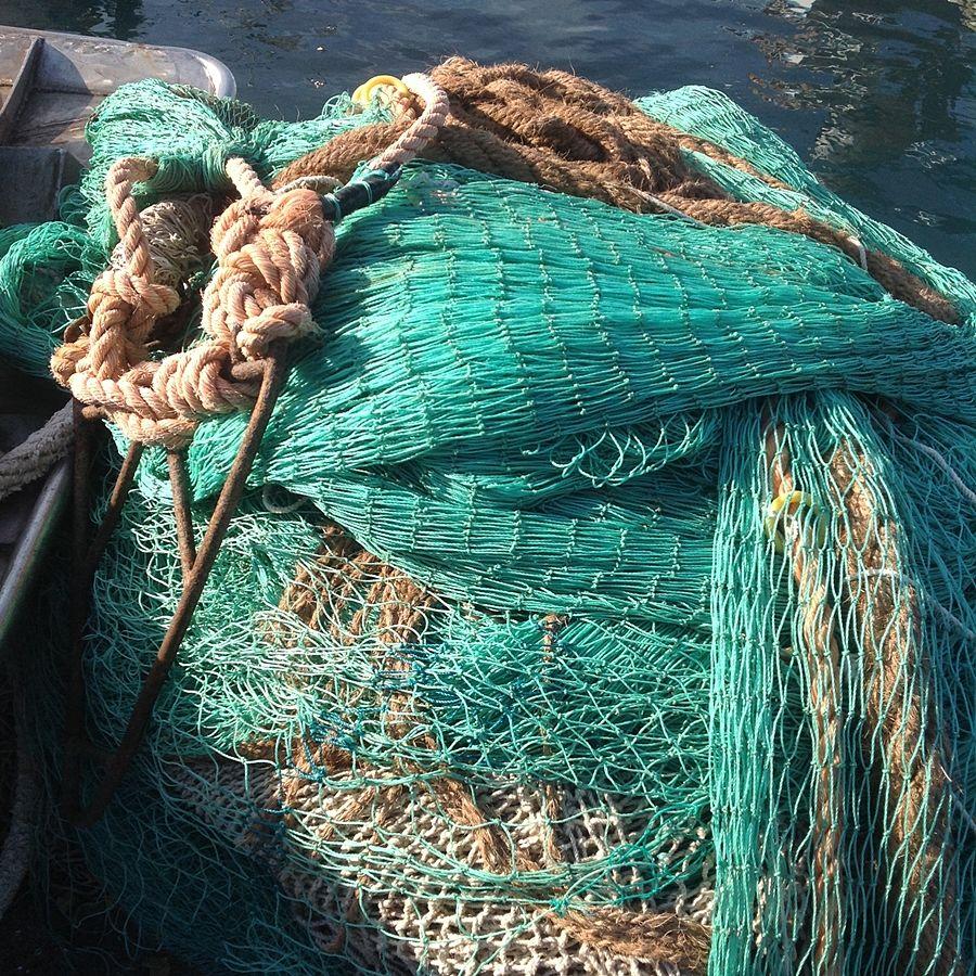 Reti da pesca ad Acciaroli - Ph. © Anna Laura Mattesini