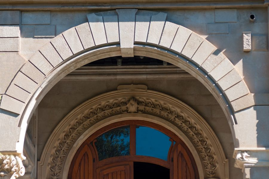 Arco d'ingresso del Villino Florio, XX sec., Palermo - Ph. Wilfrid Hauffman