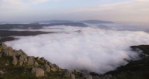 Monte Cocuzzo, viaggio al di là delle nuvole