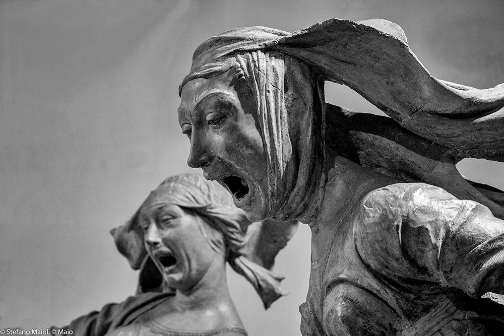 Part. del Compianto del Cristo Morto, di Niccolò dell'Arca, 1463-90 - Ph. Stefano Maioli | CCBY-SA4.0