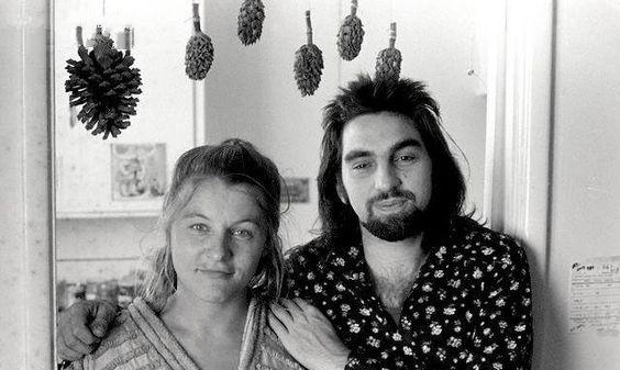 George Paul DiCaprio e  Irmelin Indenbirken, genitori di Leonardo, in una foto degli anni '60