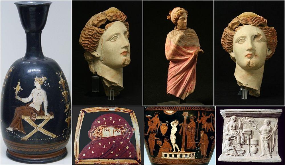 I tanti volti delle donne dell'antica Taranto greca - Ph. MARTA