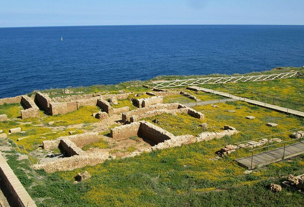 8. Scorcio del parco archeologico di Capo Colonna nell'area a sud della chiesa – Ph. © Margherita Corrado