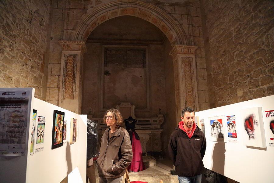 Una mostra in corso nella chiesa di S. Andrea degli Armeni - Ph. © Anna Svelto