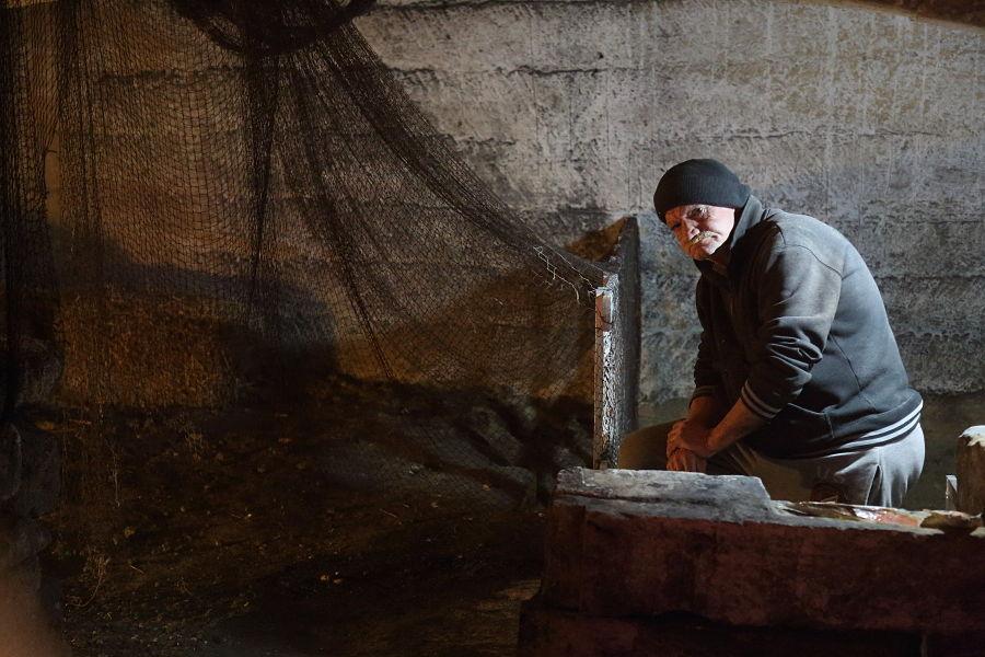 Uno dei tarantini custodi dell'Ipogeo di Palazzo Baffi – Ph. © Anna Svelto