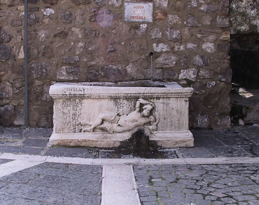 Il Fonte Helvius, Sant'Egidio del Monte Albino (Sa) - Ph. Salvatore Silvestri | Public domain