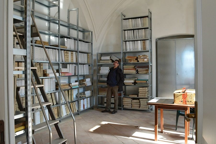 Parte del fondo archivistico di Pomarico (Mt) - Ph. © Angela capurso