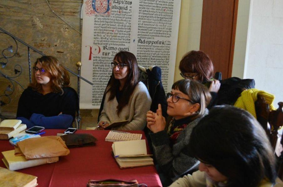Un momento del workshop - Ph. © Angela Capurso
