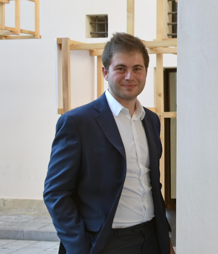 L'architetto Enrico Pata