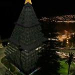 N'Albero: inaugurato a Napoli l'albero di Natale più alto del mondo