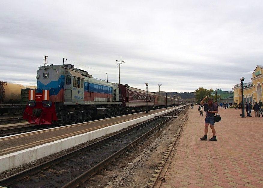 Transiberiana, stazione di Naushky, Repubblica di Buryatia, Russia - Ph. Clay Gilliland | CCBY-SA2.0