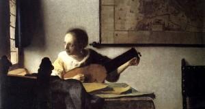"""La """"Donna con il liuto"""" di Vermeer in mostra a Capodimonte"""