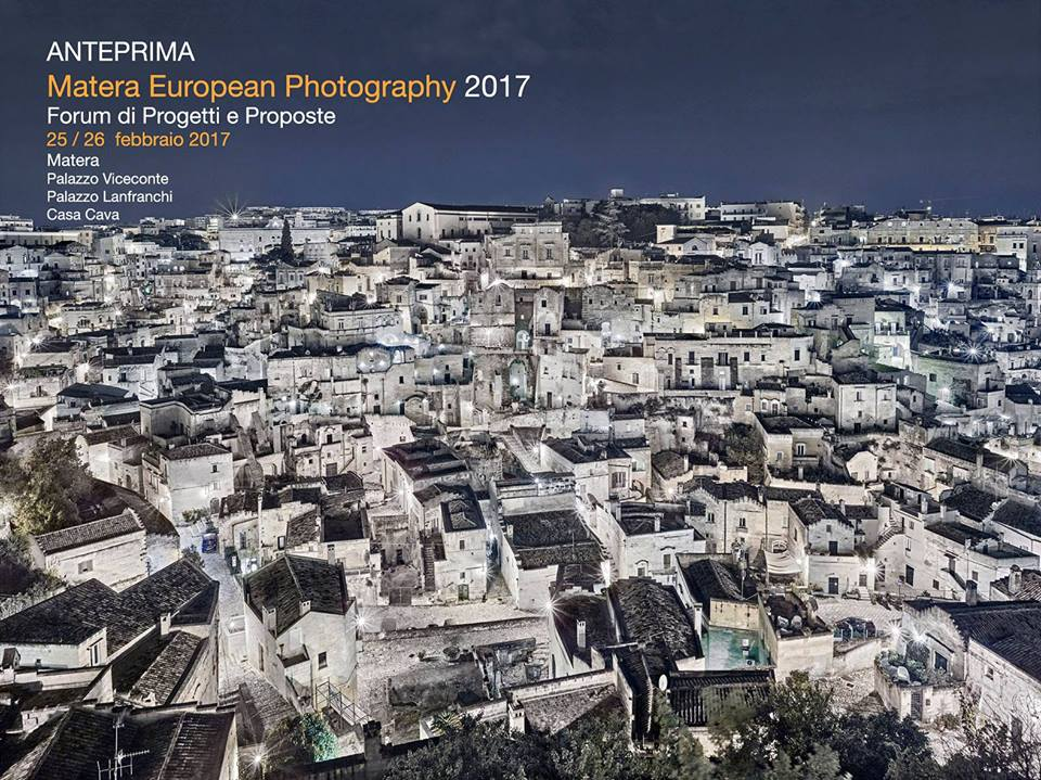 Matera European Photography 2017 (25-26 febbraio 2017)