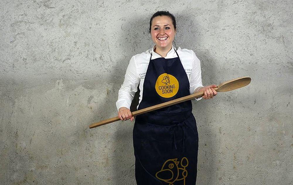 La chef calabrese Caterina Ceraudo - Ph. Manuela Laiacona