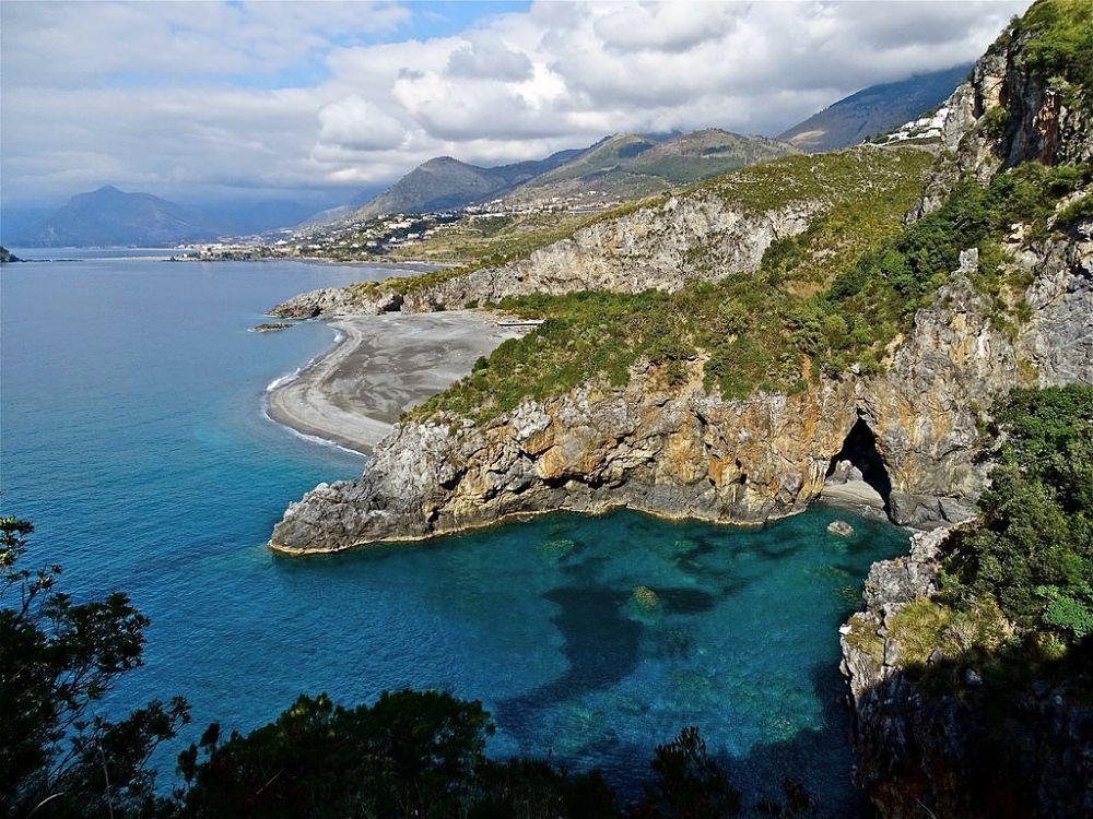 Veduta della costa di San Nicola Arcella e Praia a Mare (Cosenza) - Ph. Stefano Contin