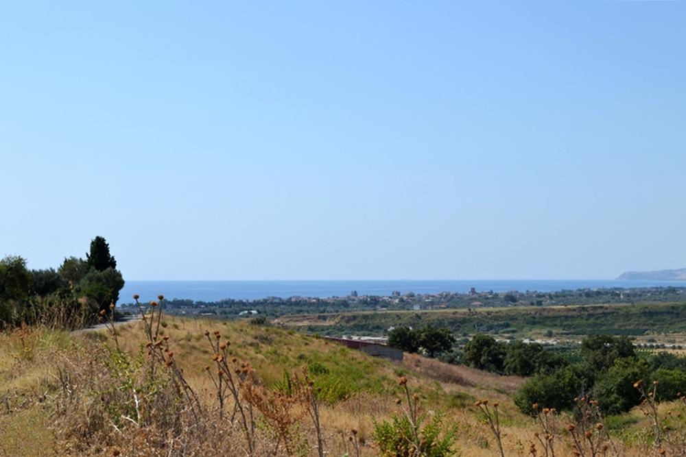Lungo il percorso con vista sul Mar Jonio - Ph. © Giuseppe Macrì