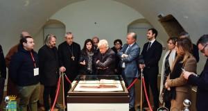 Giancarlo Giannini lancia a Rossano un progetto di docufilm sul Codex Purpureus