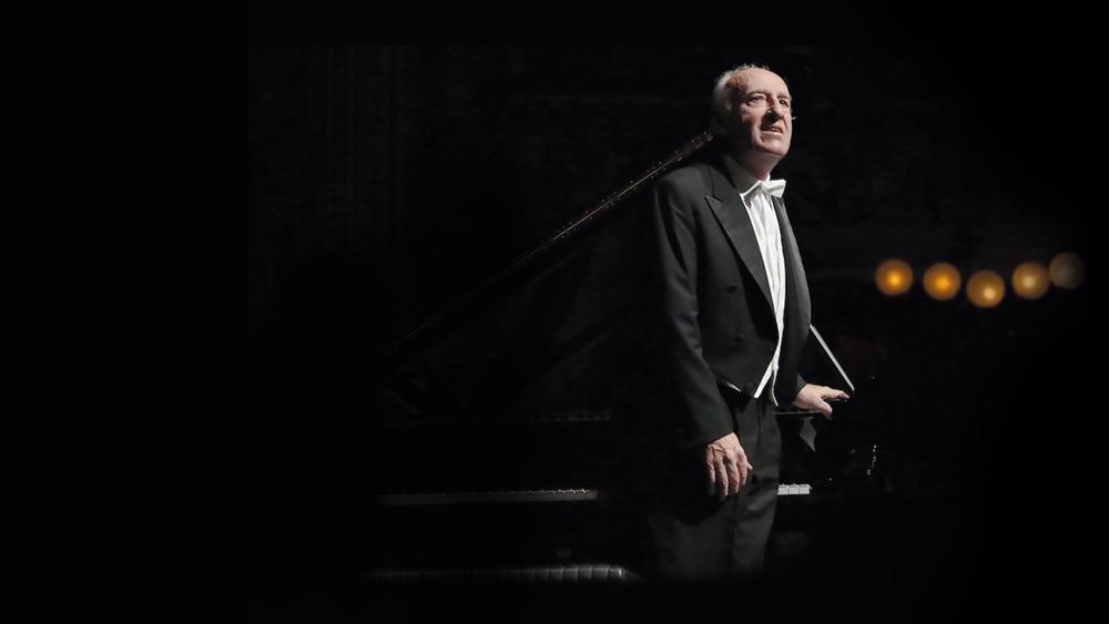 Il pianista Maurizio Pollini