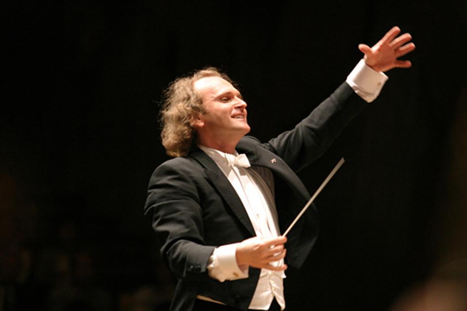 Il direttore d'orchestra Stefan Anton Reck