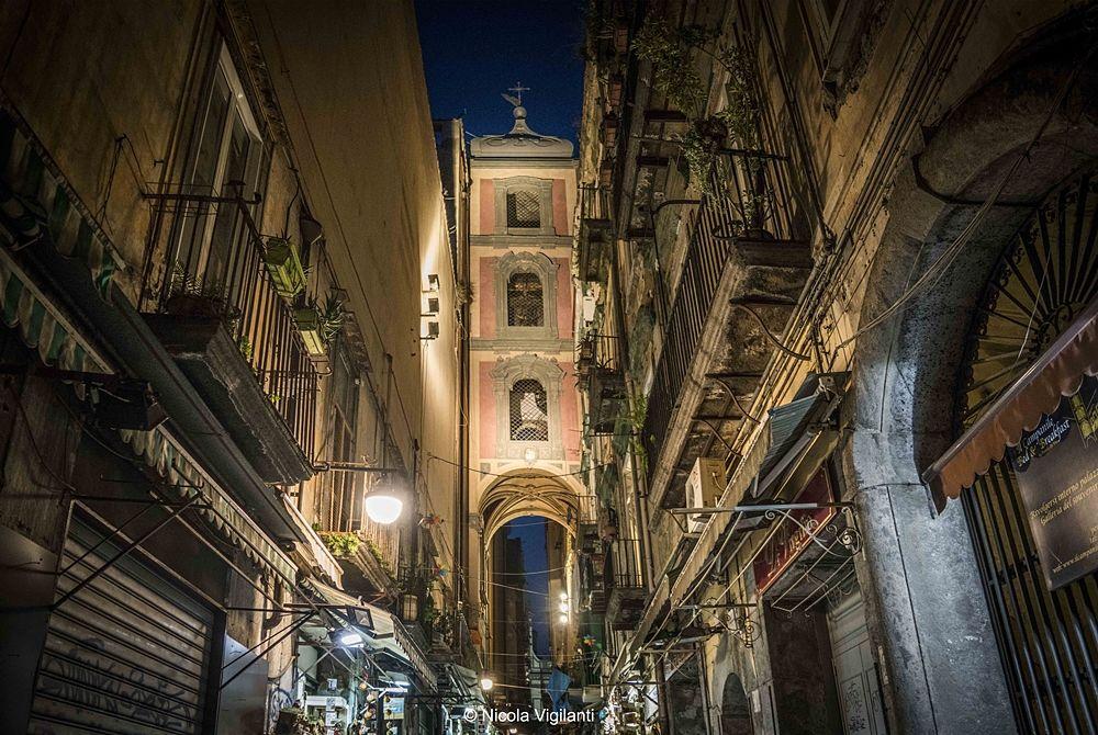Scorcio di Via San Gregorio Armeno - Ph. © Nicola Vigilanti