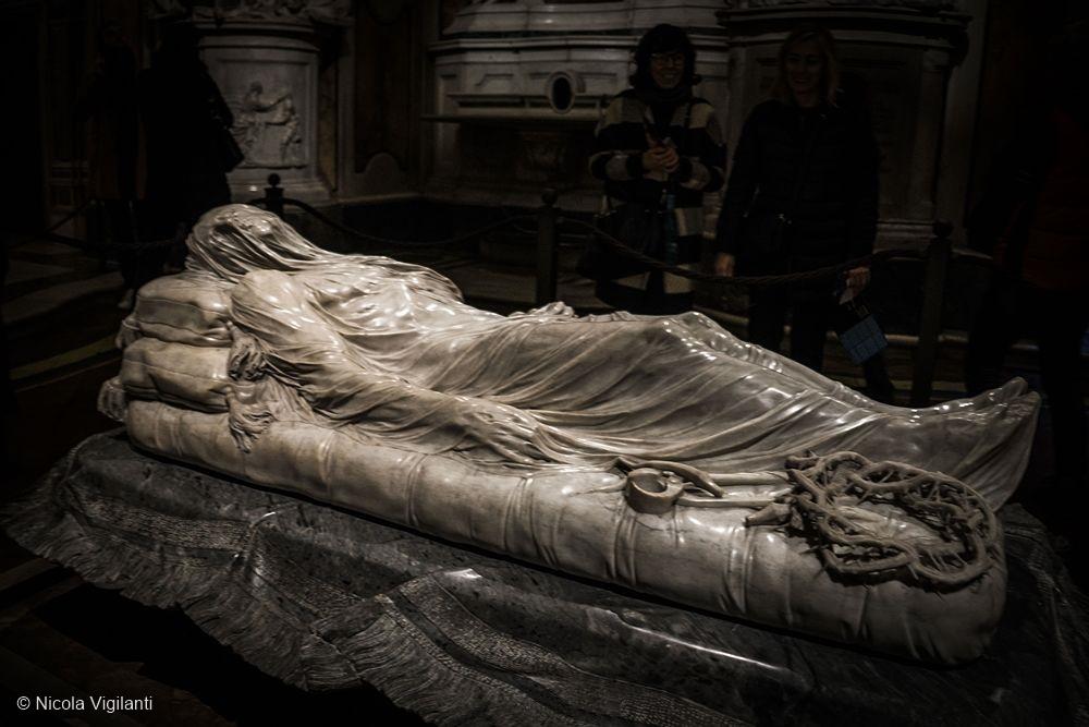 Il Cristo Velato di Giuseppe Sanmartino (XVIII sec.), Cappella Sansevero, Napoli - Ph. © Nicola Vigilanti
