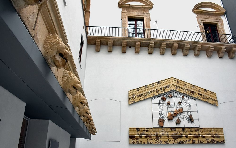"""Scorcio dell'Agorà del Museo Archeologico Regionale """"A. Salinas"""" - Ph. Arcaro - Sunseri"""