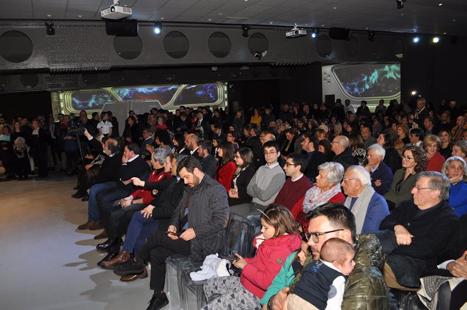 Il pubblico nel Museo Multimediale il giorno dell'inaugurazione - Ph. © Comune di Cosenza