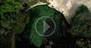 Un drone rivela a Otranto un piccolo paradiso fra la macchia mediterranea