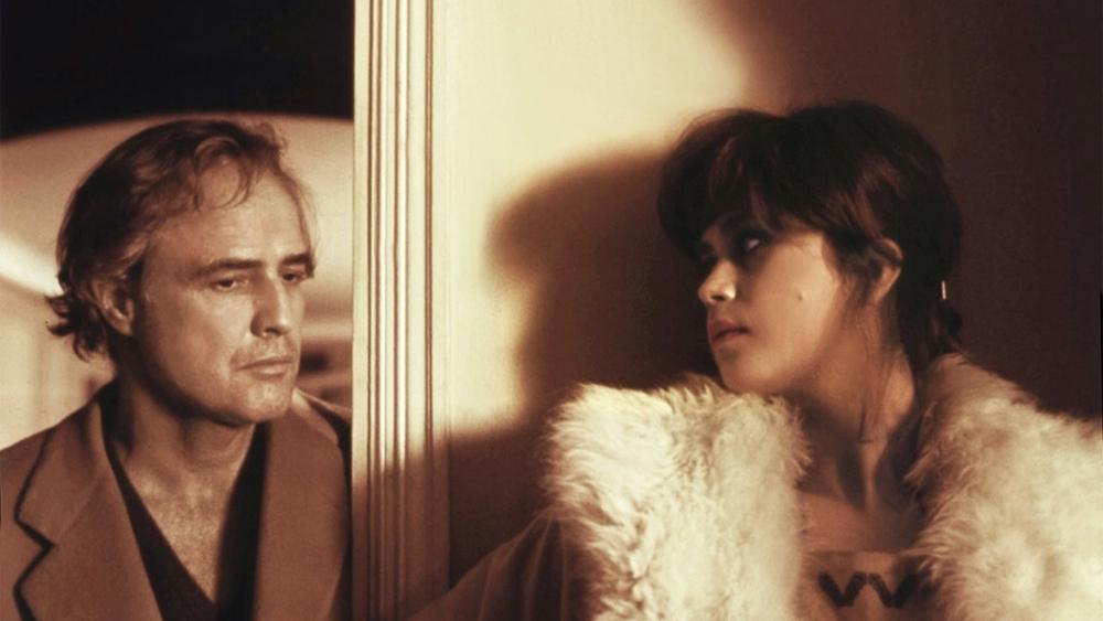 "Marlon Brando e Maria Schneider in ""Ultimo tango a Parigi"", di Bernardo Bertolucci"
