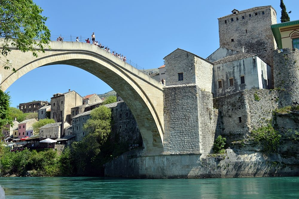 Scorcio di Mostar e del suo storico ponte © Angela Capurso