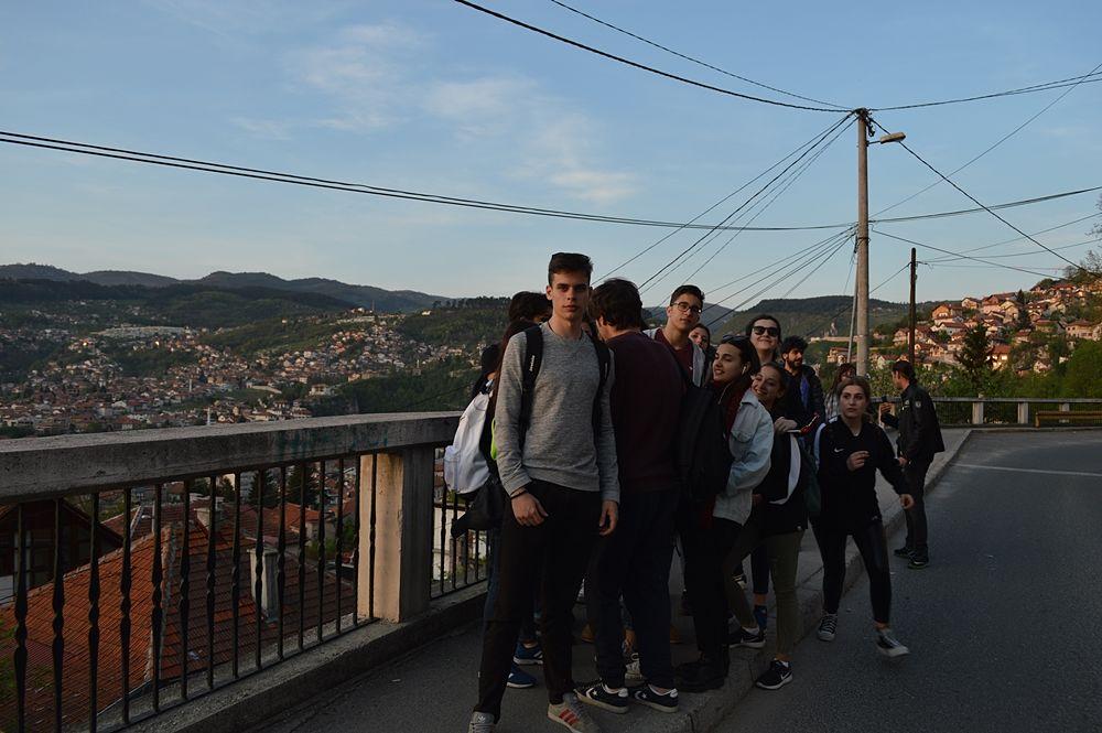 Sarajevo dalla collina di Bistrik © Angela Capurso